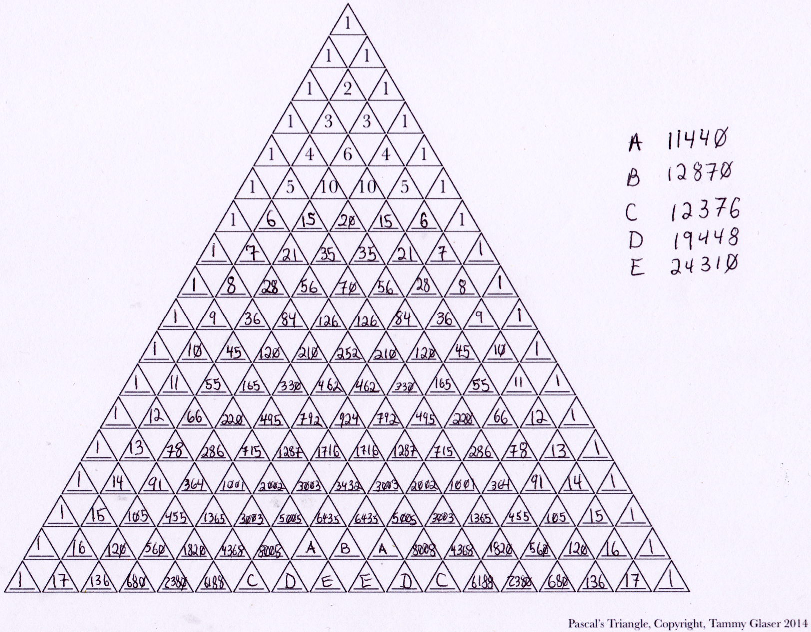 two cool things about pascal 39 s triangle rarefied